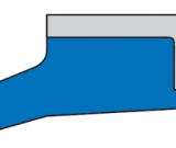 Грязесъемник AS 10x16x3x4,5x0,3