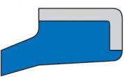 Грязесъемник AS 18x28x5x7x0,7
